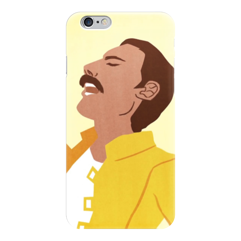 Чехол для iPhone 6 глянцевый Printio Фредди меркьюри (queen)