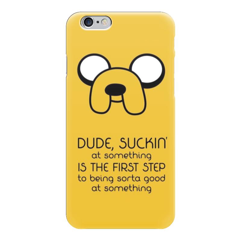 Чехол для iPhone 6 глянцевый Printio Джейк (jake the dog) сумка printio gta 5 dog