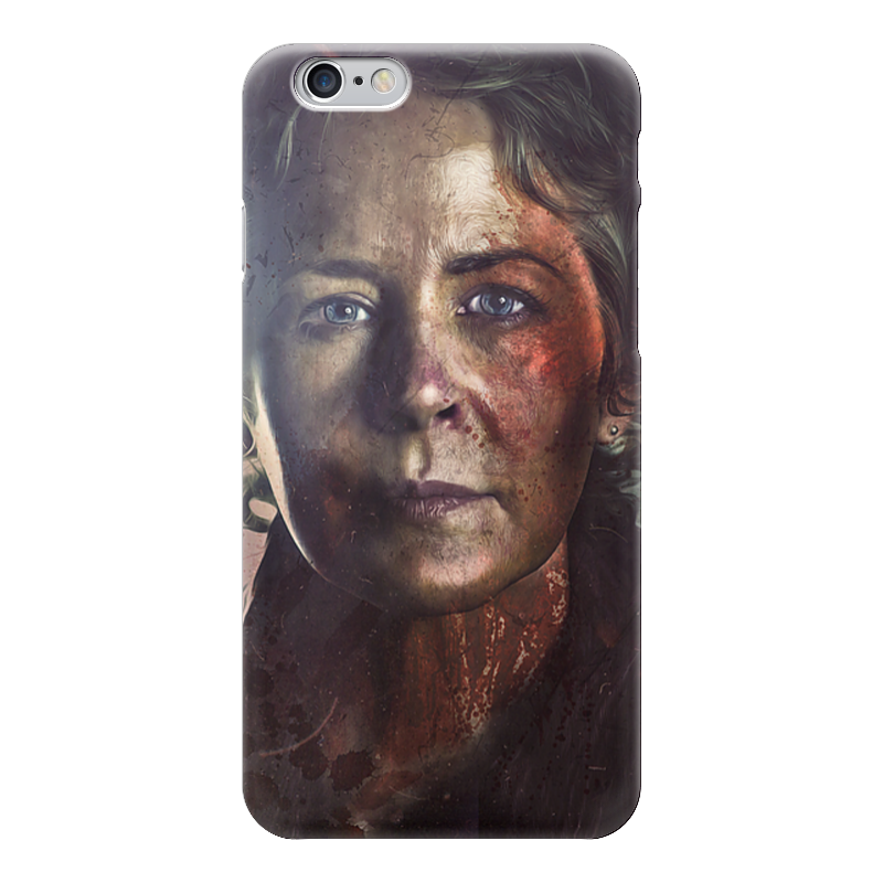 Чехол для iPhone 6 глянцевый Printio The walking dead | carol the walking dead the fall of the governor part one