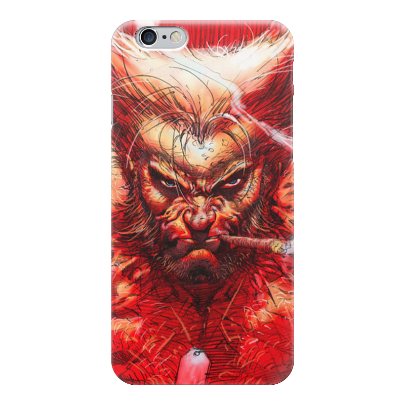 Чехол для iPhone 6 глянцевый Printio Superheroes: wolverine marvel platinum the definitive wolverine reloaded