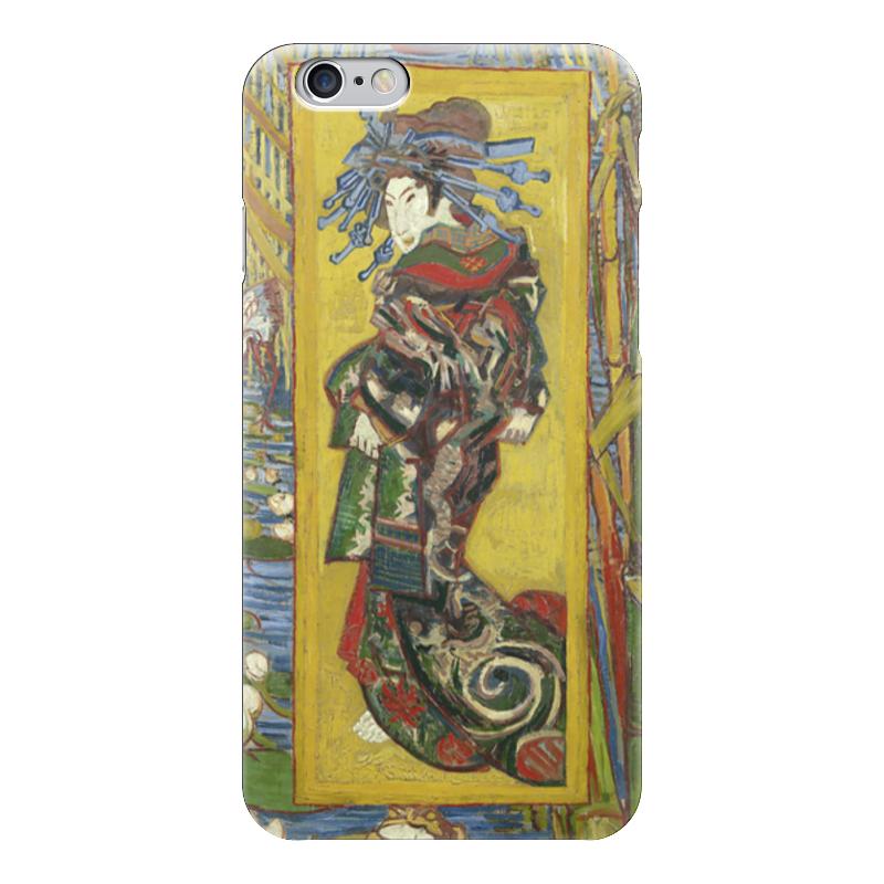 Чехол для iPhone 6 глянцевый Printio Куртизанка (courtesan (after eisen)) лэндон д скандальная куртизанка