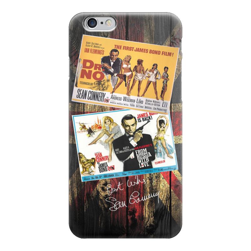 Чехол для iPhone 6 глянцевый Printio James bond - старые афиши james bond  nobody lives for ever