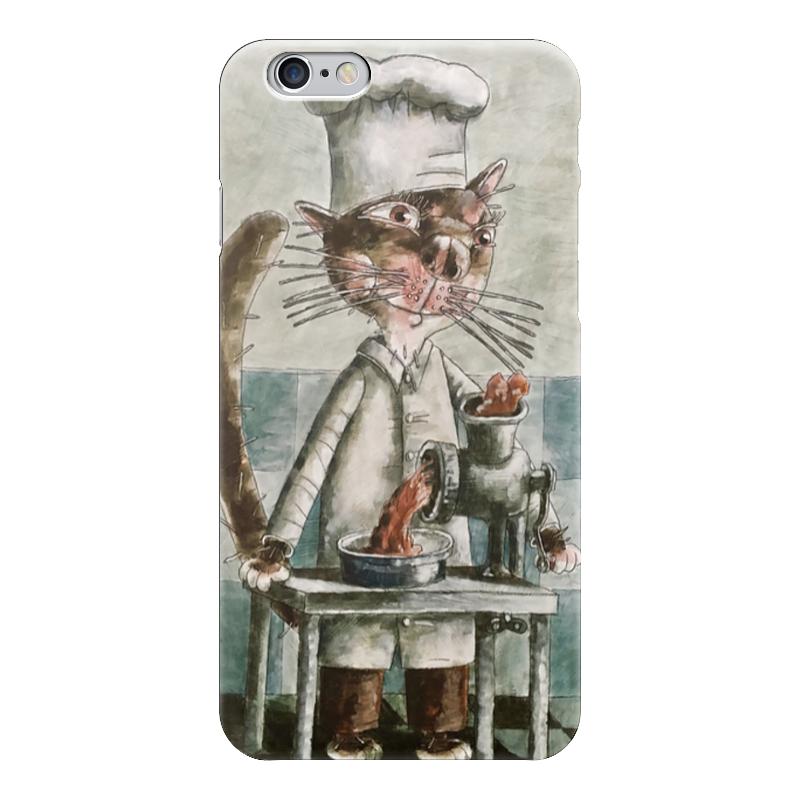 Чехол для iPhone 6 глянцевый Printio Кот-повар чехол для iphone 6 глянцевый printio кот бу