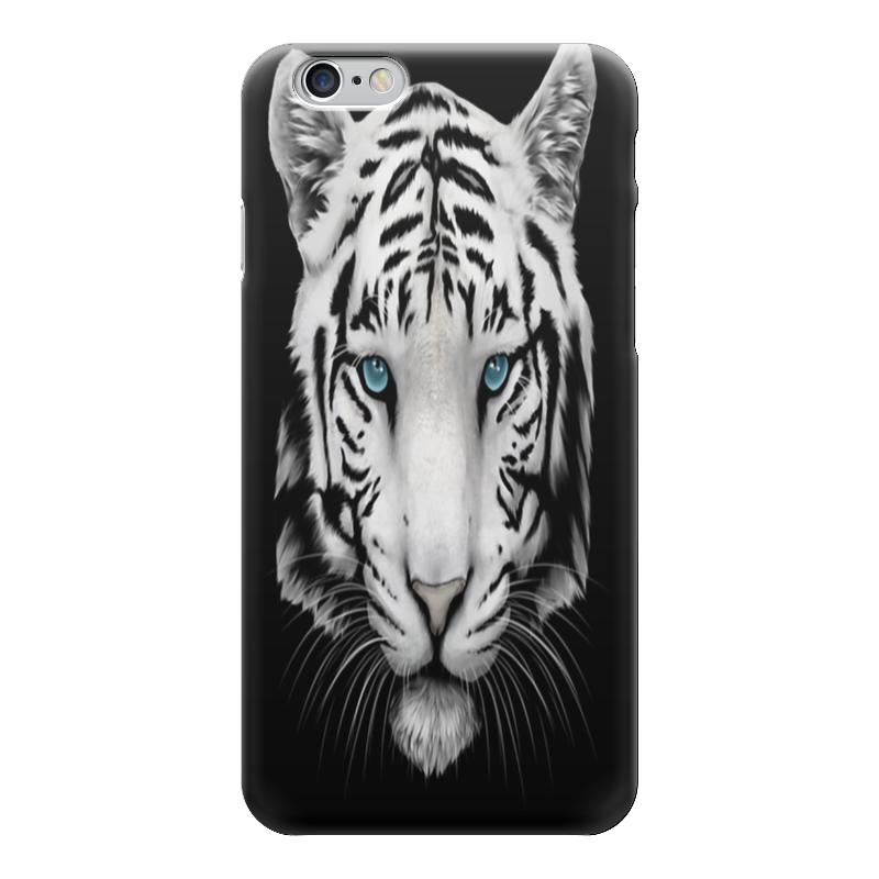 Чехол для iPhone 6 глянцевый Printio Белый тигр чехол для iphone 6 глянцевый printio сад на улице корто сад на монмартре ренуар