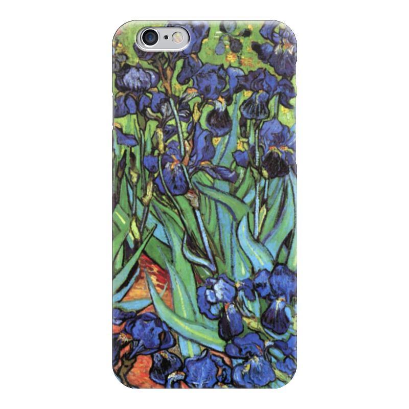 Чехол для iPhone 6 глянцевый Printio Ирисы, винсент ван гог ян ван хейсум