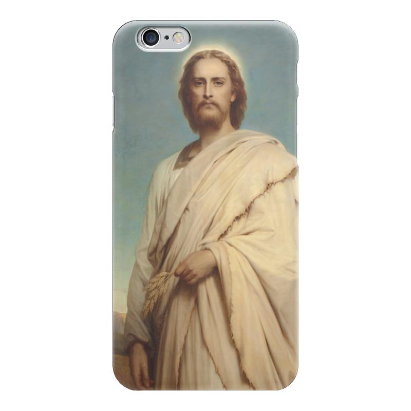 Чехол для iPhone 6 глянцевый Printio Христос на ниве (фрэнк бернард дикси) вышивка бисером молящийся христос