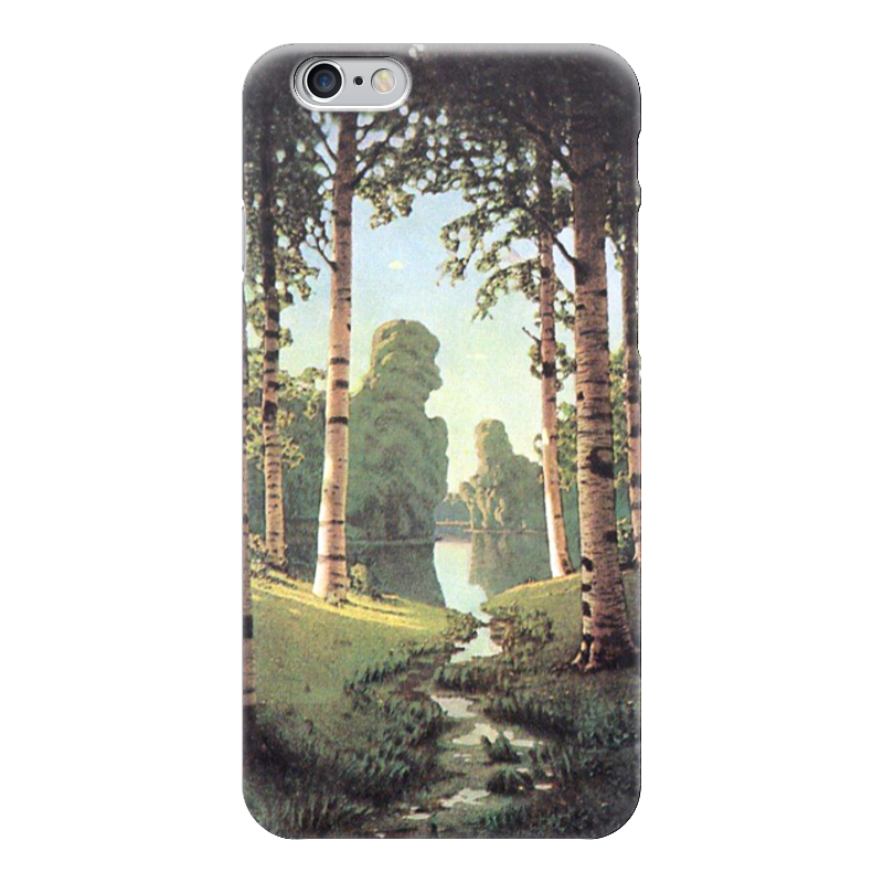 Чехол для iPhone 6 глянцевый Printio Берёзовая роща (картина архипа куинджи) марьина роща серии 1 16