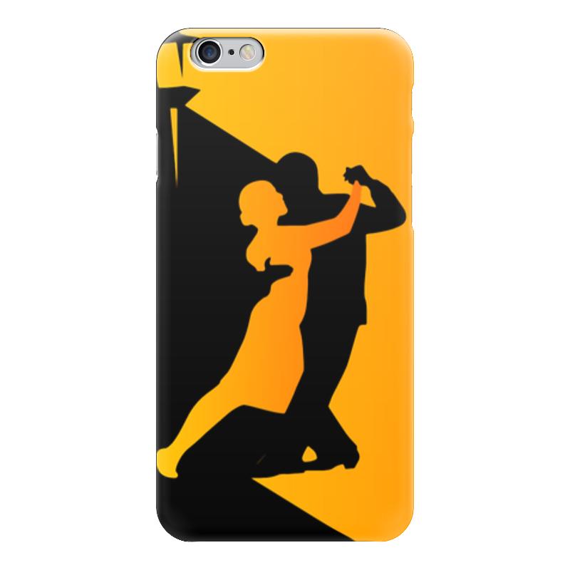 Чехол для iPhone 6 глянцевый Printio Танго в ночи мячи адидас танго в киеве