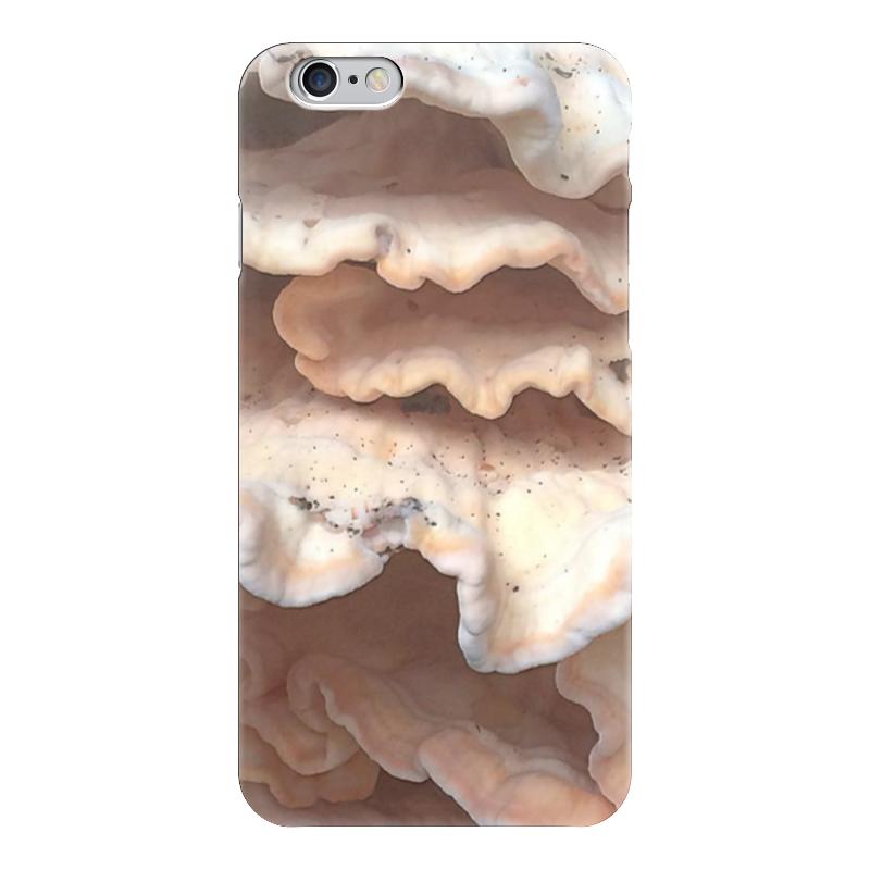 Чехол для iPhone 6 глянцевый Printio Грибы стоимость