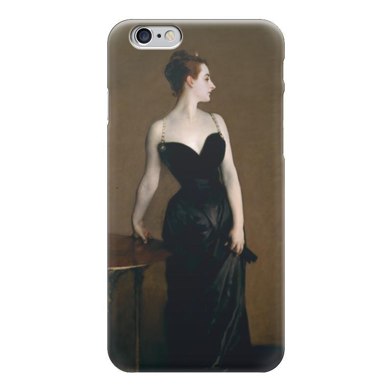 Чехол для iPhone 6 глянцевый Printio Портрет мадам икс чехол для iphone 6 глянцевый printio портрет актрисы жанны самари ренуар