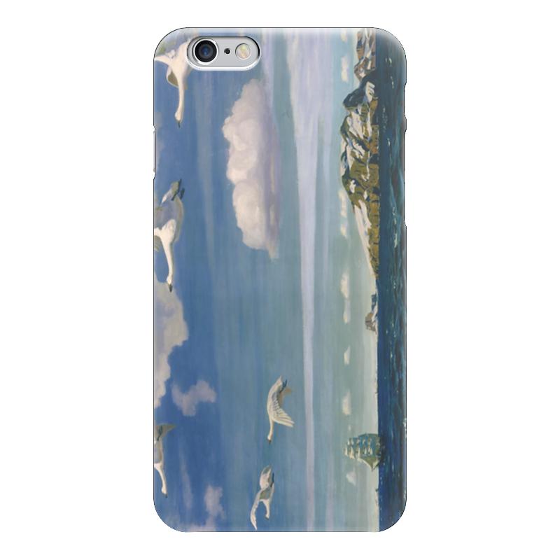Чехол для iPhone 6 глянцевый Printio В голубом просторе чехол для iphone 6 глянцевый printio дама в голубом картина сомова