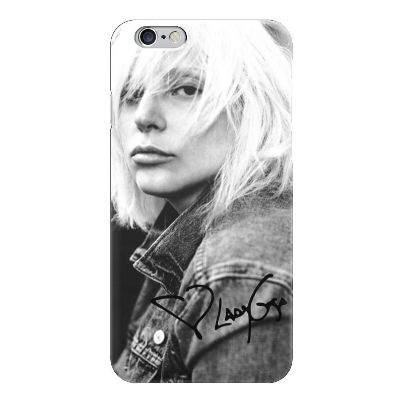 Чехол для iPhone 6 глянцевый Printio Lady gaga чехол для iphone 6 глянцевый printio красавица и чудовище