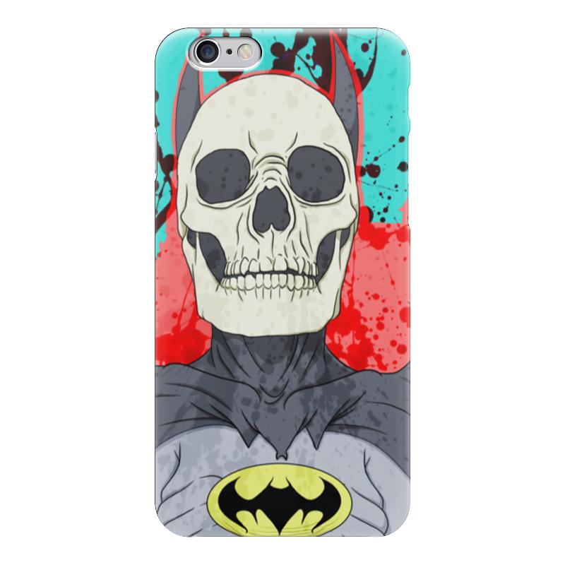 Чехол для iPhone 6 глянцевый Printio Бэтмен чехол для iphone 6 глянцевый printio kids paint