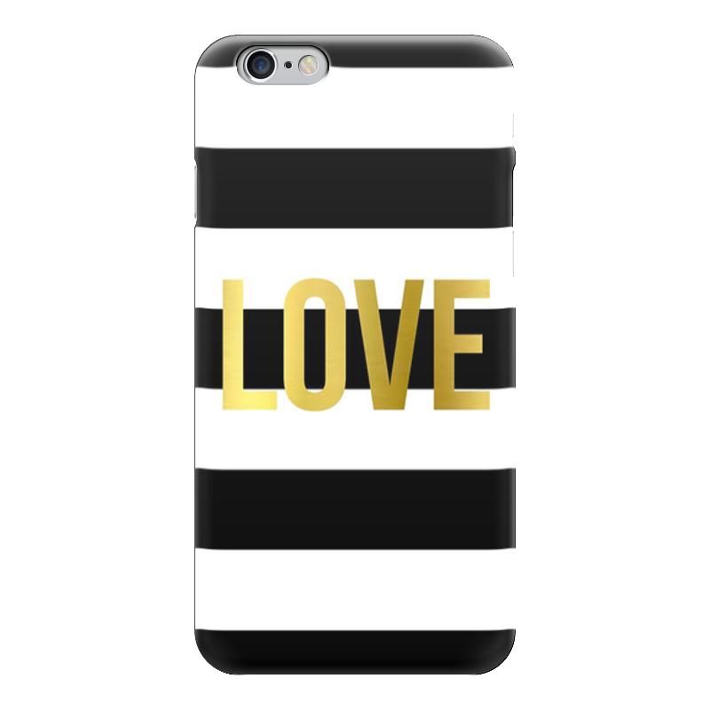 Чехол для iPhone 6 глянцевый Printio Love чехлы для телефонов with love moscow силиконовый дизайнерский чехол для meizu m3s перья
