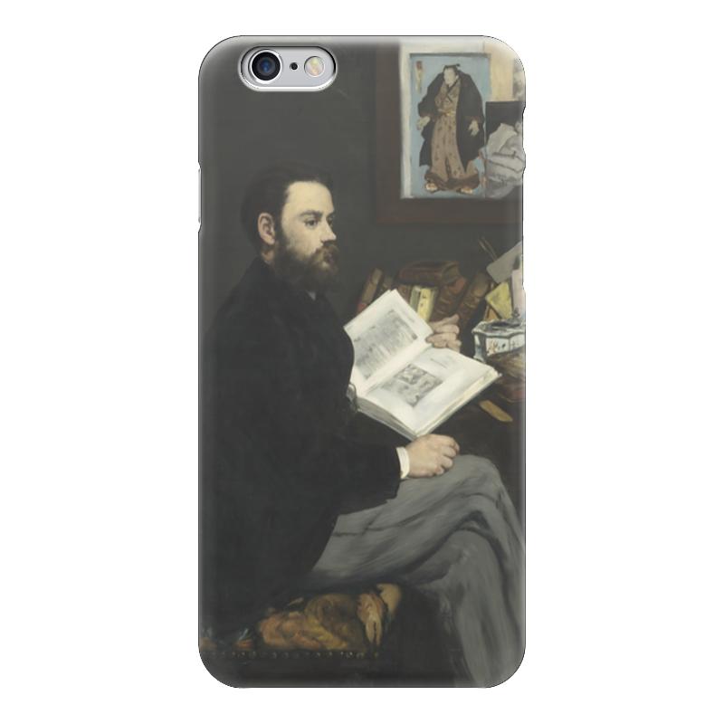 Чехол для iPhone 6 глянцевый Printio Портрет эмиля золя чехол для iphone 6 глянцевый printio портрет актрисы жанны самари ренуар