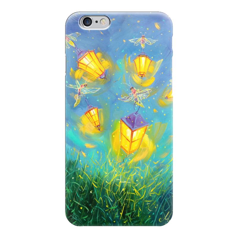 Чехол для iPhone 6 глянцевый Printio Светлячки чехол для iphone 6 глянцевый printio сад на улице корто сад на монмартре ренуар