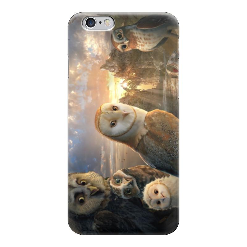 Чехол для iPhone 6 глянцевый Printio Совушки стоимость