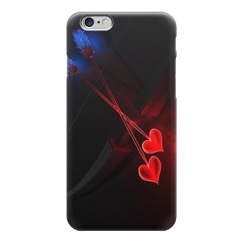 Чехол для iPhone 6 глянцевый Printio Стрелы амура