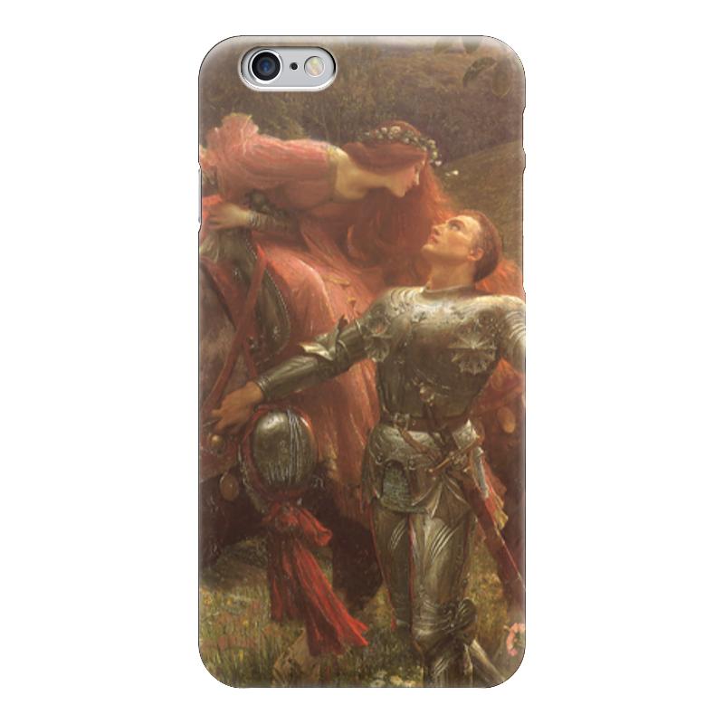 Чехол для iPhone 6 глянцевый Printio Безжалостная красавица (фрэнк бернард дикси) спящая красавица