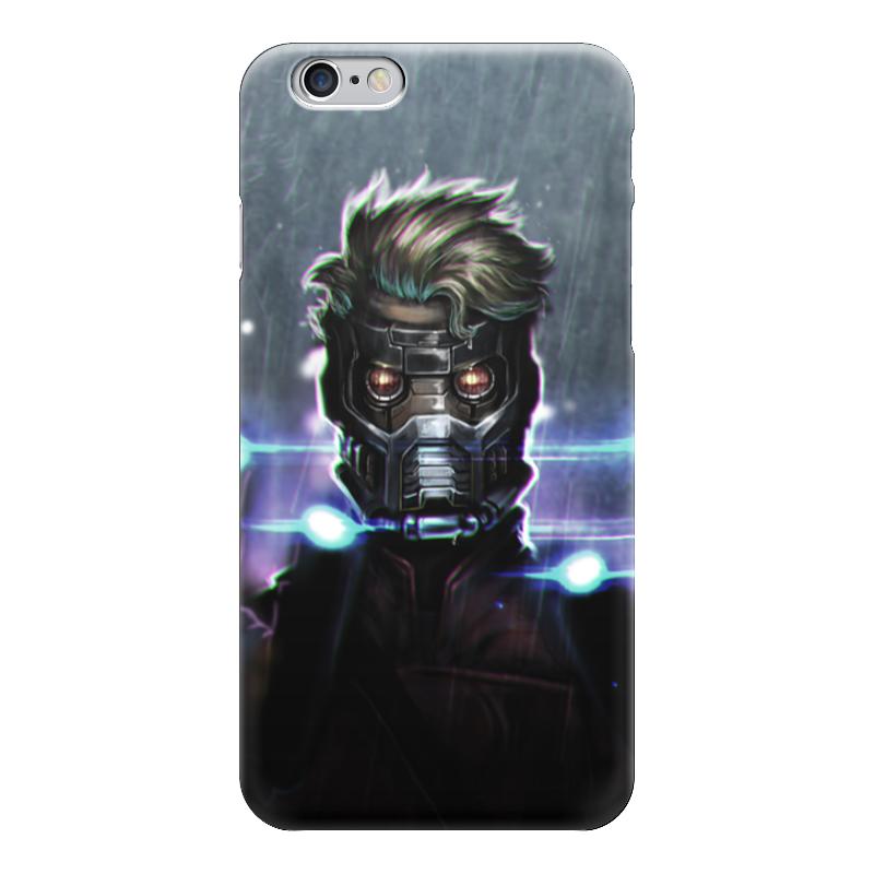 Чехол для iPhone 6 глянцевый Printio Star lord чехол для iphone 7 глянцевый printio time lord doctor who
