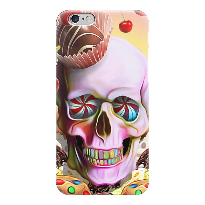 Чехол для iPhone 6 глянцевый Printio Sweet skull чехол для iphone 6 глянцевый printio sweet dream