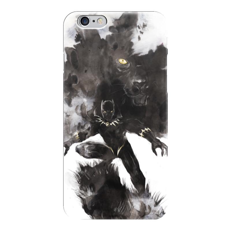 Чехол для iPhone 6 глянцевый Printio Черная пантера бусы из янтаря золото осени нян 5476 зн