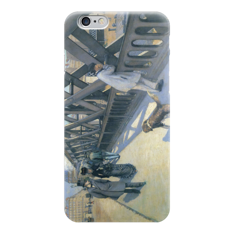 Чехол для iPhone 6 глянцевый Printio Мост европы (картина кайботта) чехол для iphone 6 глянцевый printio дама в голубом картина сомова