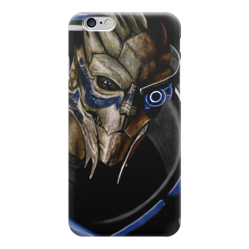 Чехол для iPhone 6 глянцевый Printio Mass effect (garrus vakarian) mass effect volume 4 homeworlds