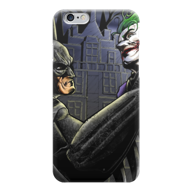Чехол для iPhone 6 глянцевый Printio Batman x joker лонгслив printio ice king x batman