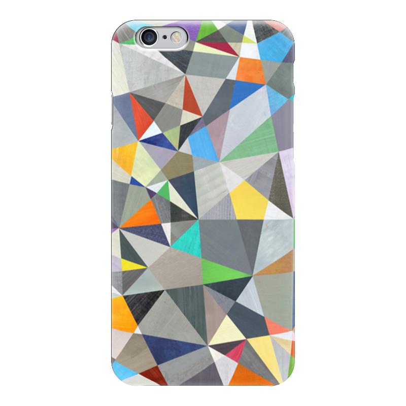 Чехол для iPhone 6 глянцевый Printio Видя звезды санки galaxy мишутка 1 универсал оранжевые