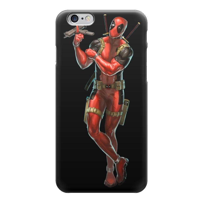 Чехол для iPhone 6 глянцевый Printio Deadpool/дэдпул чехол для iphone 6 глянцевый printio deadpool family