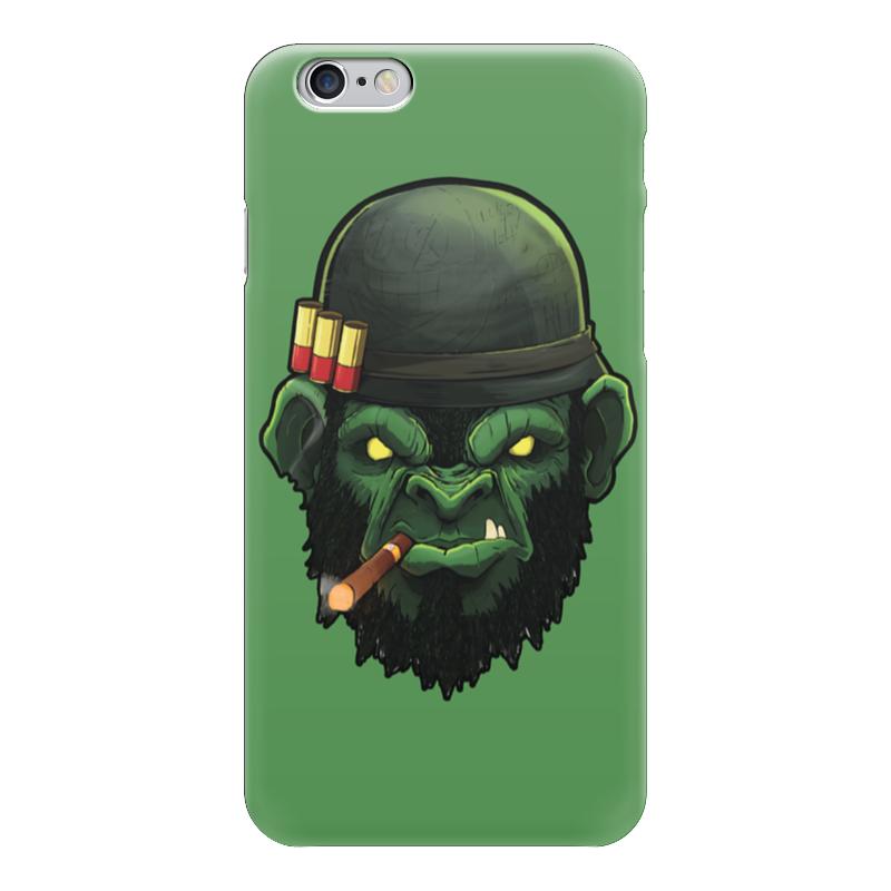 Чехол для iPhone 6 глянцевый Printio War monkey/обезьяна чехол для iphone 6 глянцевый printio hogs of war