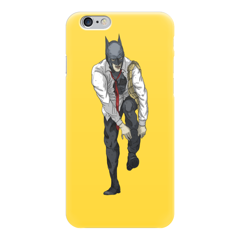 Чехол для iPhone 6 глянцевый Printio Бэтмен yellow чехол для iphone 4 глянцевый с полной запечаткой printio бэтмен
