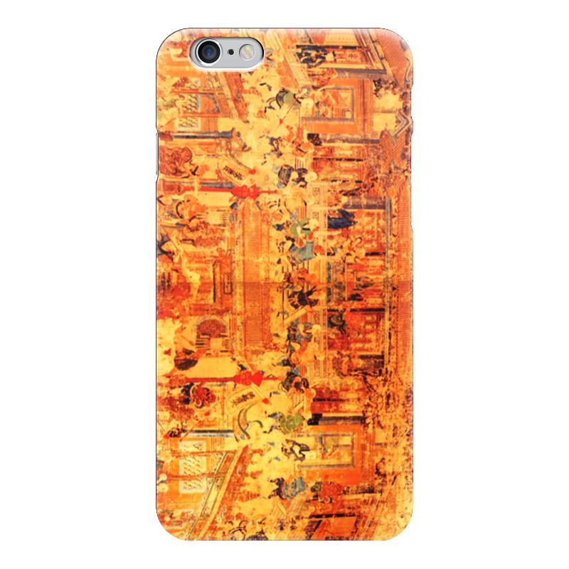 Чехол для iPhone 6 глянцевый Printio Шаолинь оптом из китая копии iphone