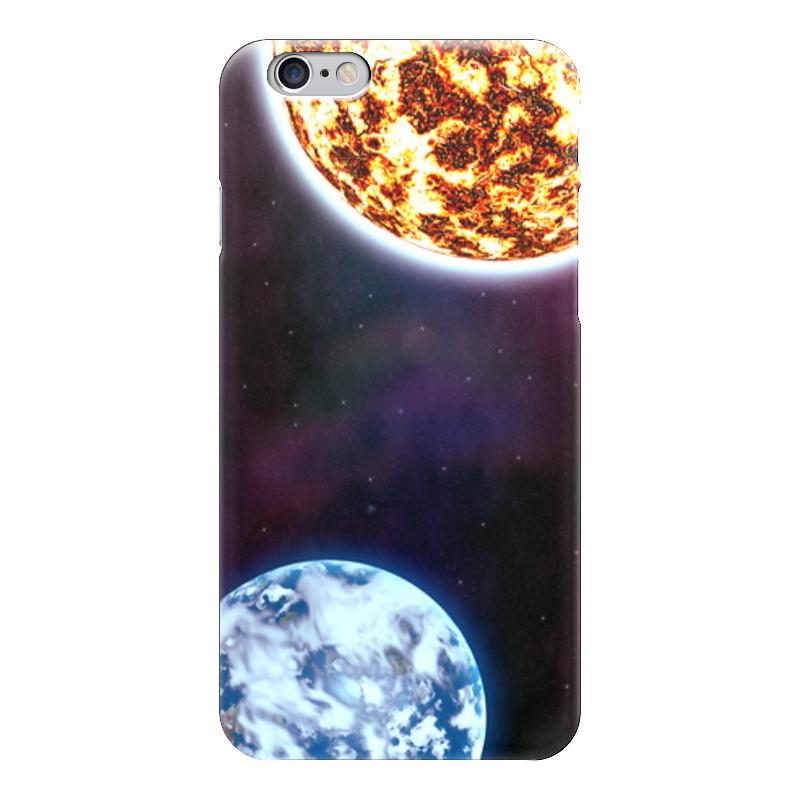 Чехол для iPhone 6 глянцевый Printio Universe