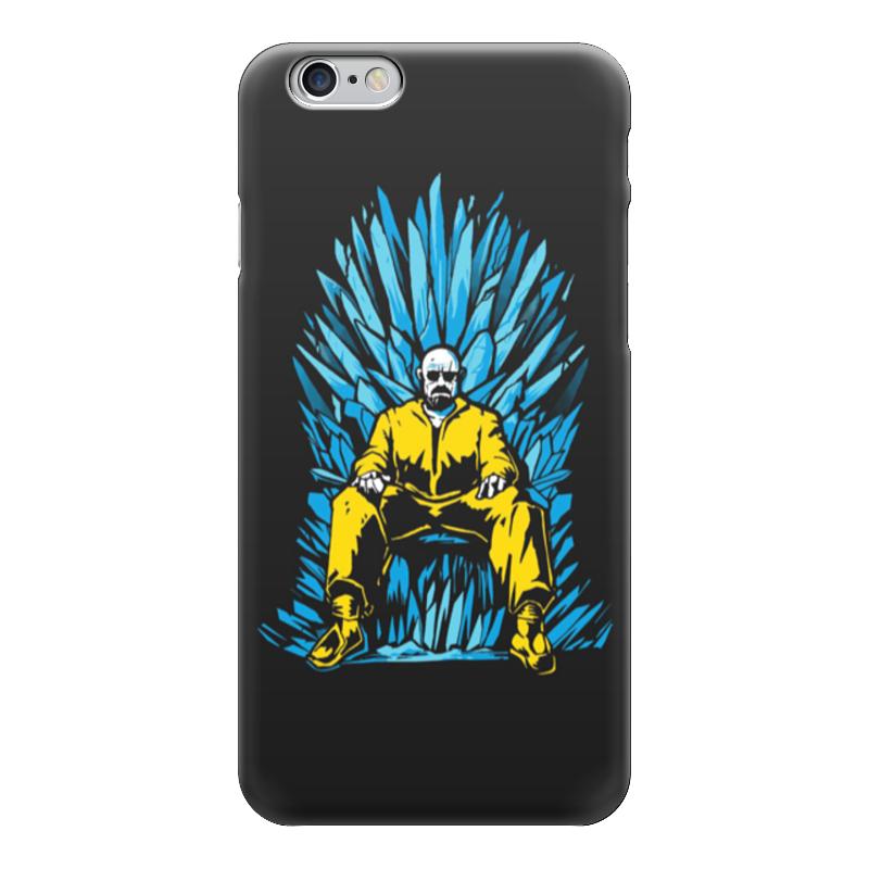 Чехол для iPhone 6 глянцевый Printio Breaking bad x game of thrones, цена и фото