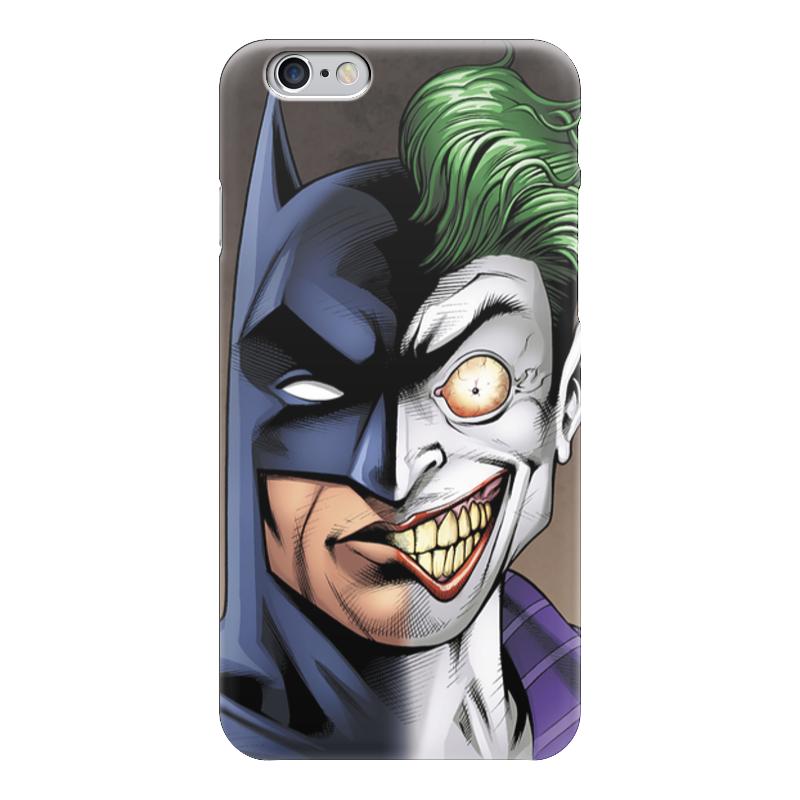 Чехол для iPhone 6 глянцевый Printio Бэтмен и джокер чехол для iphone 4 глянцевый с полной запечаткой printio бэтмен