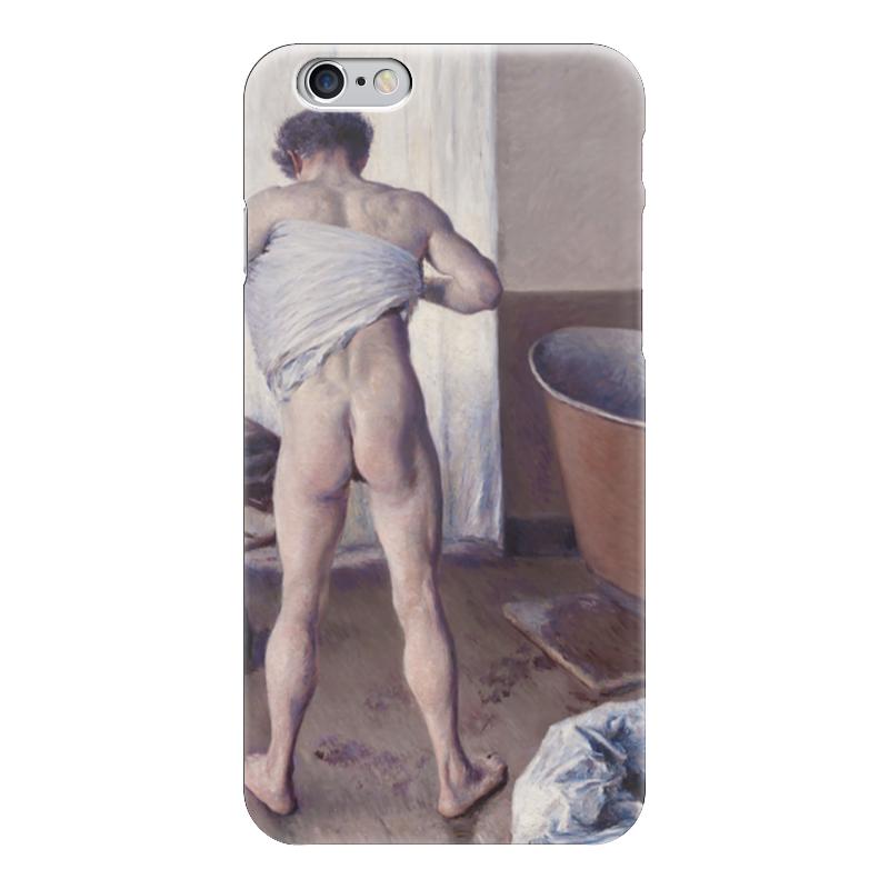 Чехол для iPhone 6 глянцевый Printio Мужчина в ванной (картина кайботта) nathalia brodskaya caillebotte