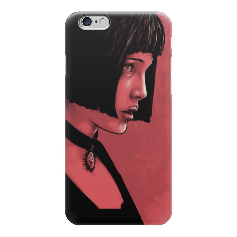 Чехол для iPhone 6 глянцевый Printio Натали портман рэд 2