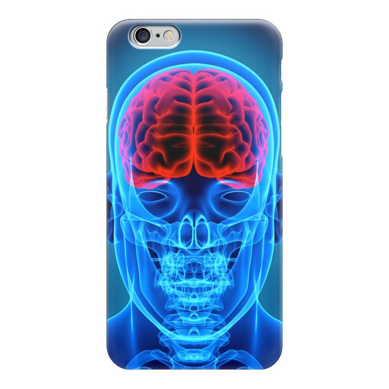 Чехол для iPhone 6 глянцевый Printio X-ray skull чехол для iphone 7 глянцевый printio skull art