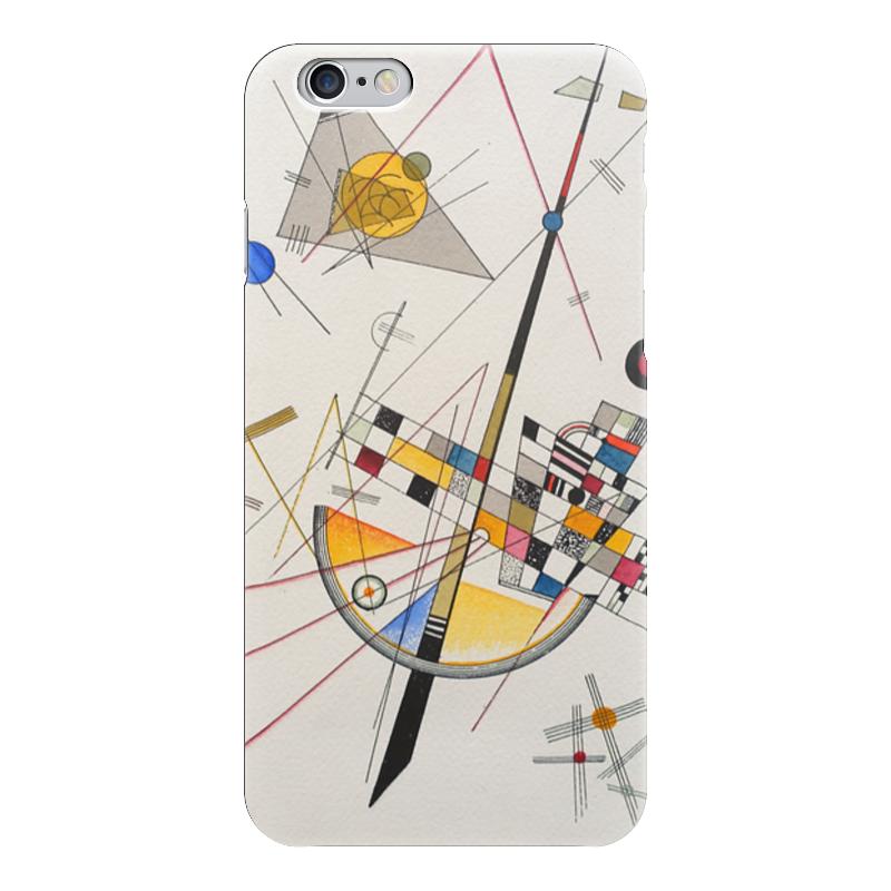 Чехол для iPhone 6 глянцевый Printio Тонкое напряжение (василий кандинский) торт printio points василий кандинский