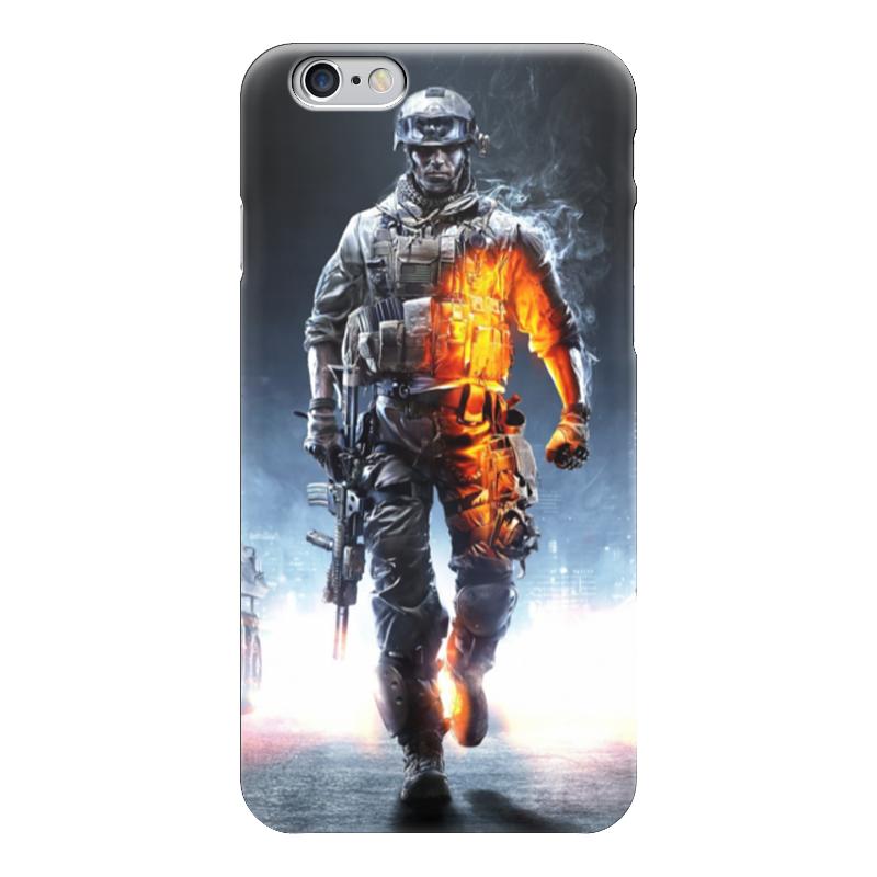 Чехол для iPhone 6 глянцевый Printio Солдат из bf форма для солдат срочников