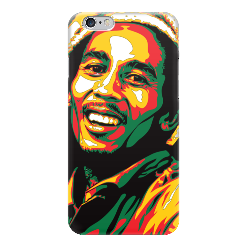 Чехол для iPhone 6 глянцевый Printio Bob marley (боб марли) боб марли bob marley hits