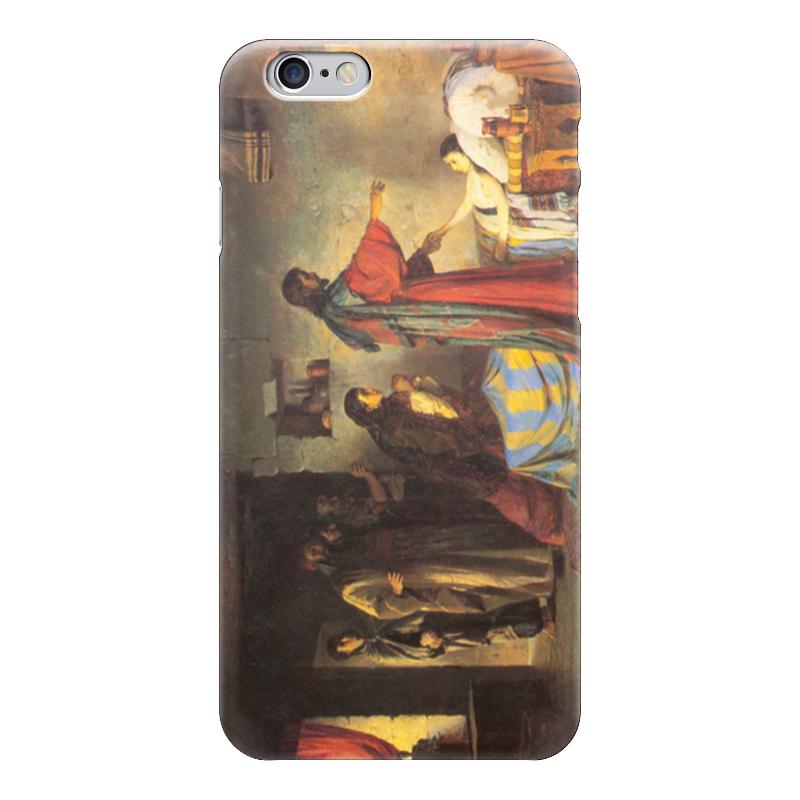 Чехол для iPhone 6 глянцевый Printio Воскрешение дочери иаира поленов
