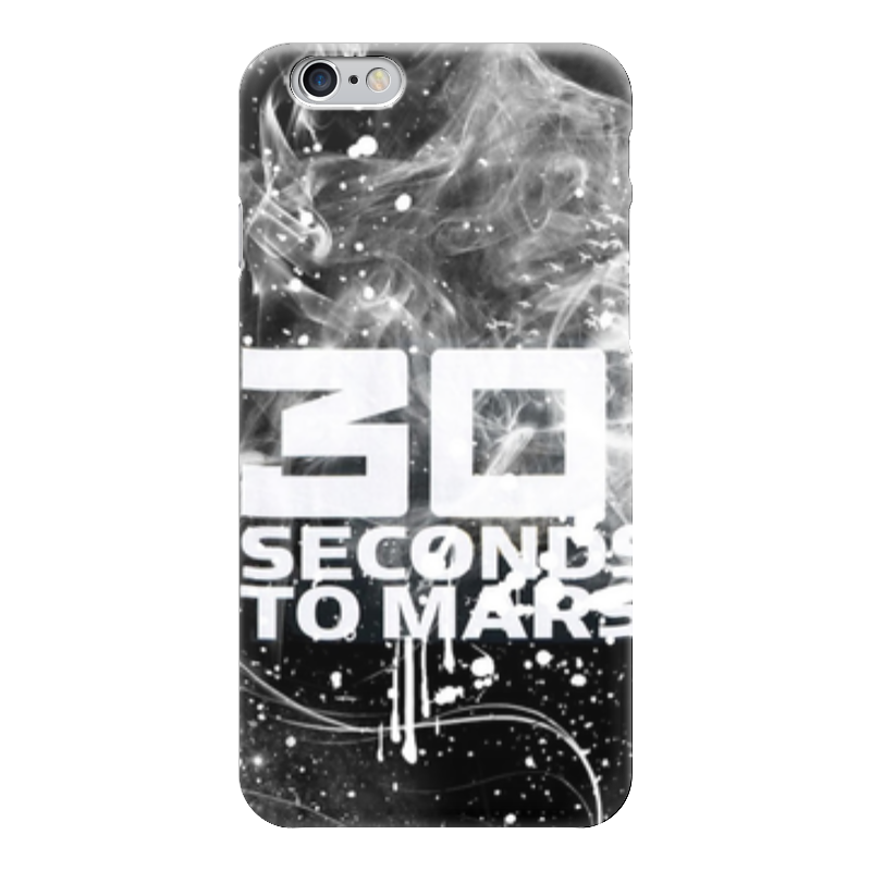 Чехол для iPhone 6 глянцевый Printio 30 seconds to mars лонгслив printio city of angels 30 seconds to mars