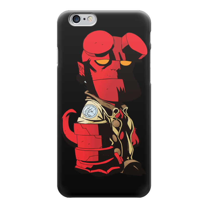Чехол для iPhone 6 глянцевый Printio Hellboy / хеллбой hellboy giant right hand anung un rama right hand of doom arms hellboy animated cosplay weapon resin collectible model toy w257
