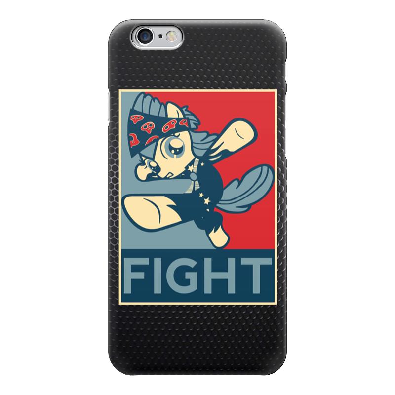 Чехол для iPhone 6 глянцевый Printio Fight (obey) стоимость
