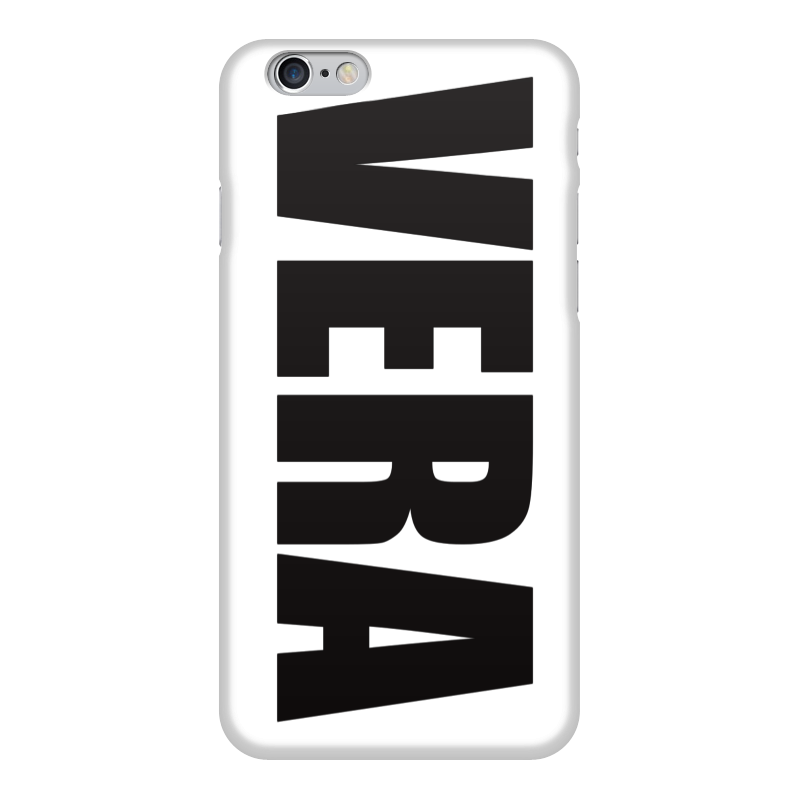 Чехол для iPhone 6 глянцевый Printio С именем вера чехол для iphone 6 глянцевый printio fatgamy iphone 6