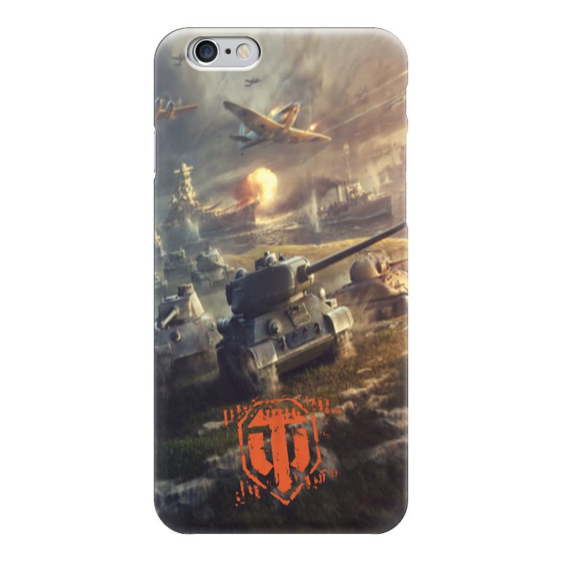все цены на Чехол для iPhone 6 глянцевый Printio World of tanks онлайн