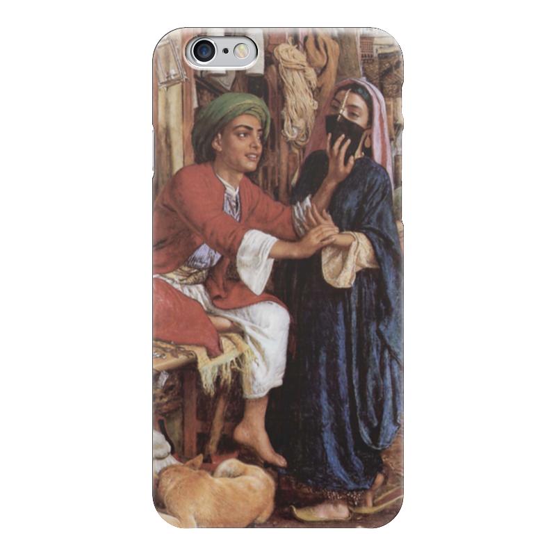 Чехол для iPhone 6 глянцевый Printio Уличная сцена в каире (уильям холман хант) что можно купить в каире